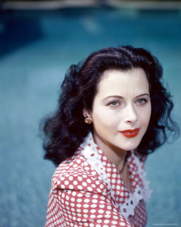 Hedy Lamarr colour